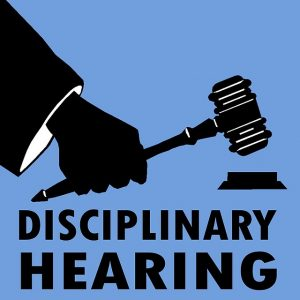 Managing performance disciplinary